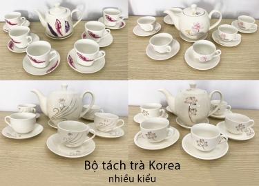 Bộ tách trà Korea