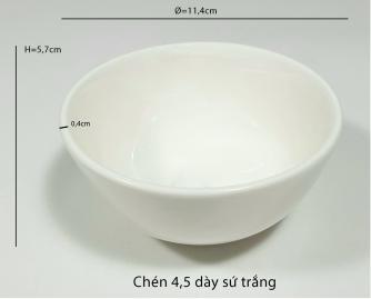 Chén dày 4.5