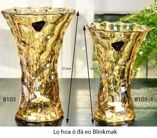 Lọ hoa ô đá eo vàng
